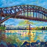 New York City Hell's Gate Bridge by RD Riccoboni