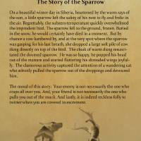 The Story of the Sparrow by I.M. Spadecaller