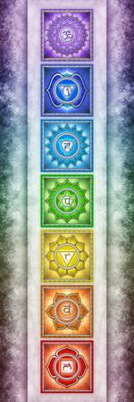 The Seven Chakras - Series 2 Artwork 2.1