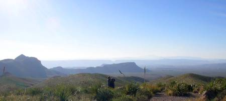 Sotol Vista overlook, Texas
