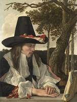 A Man Reading, anonymous, c. 1660