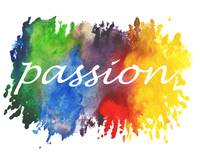 Passion Watercolor Rainbow Splashes