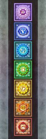 The Seven Chakras Artwork 2.3 Series 1
