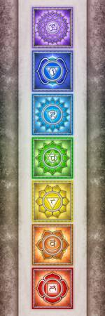 The Seven Chakras Artwork 2.2 Series 2