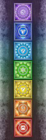 The Seven Chakras Artwork 2.3 Series 2