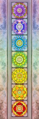 The Seven Chakras Artwork 2.3 Series 3