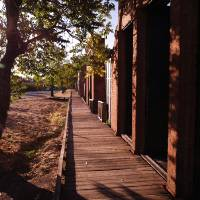 Boardwalk of Historic Shasta by Richard Thomas