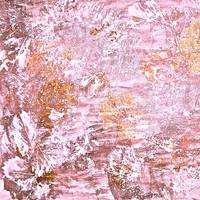 Abstract Autumn In Golden Pink