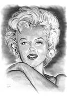 Marilyn In Black And White