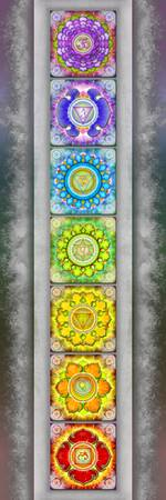 The Seven Chakras Artwork 2.2 Series 3