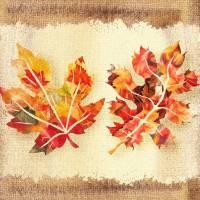 Fall Leaves Autumn Collage Art Prints & Posters by Irina Sztukowski