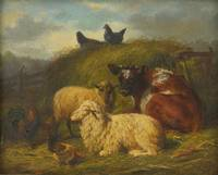 Arthur Fitzwilliam Tait 1819 - 1905 THE FARMYARD