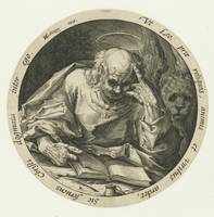 Evangelist Marcus, Jacob de Gheyn (II) (attributed