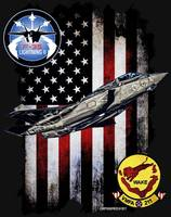 VMFA-211 AVENGERS F-35 VERTICAL BLACK HR