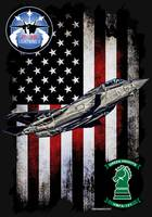 VMFA-121 GREEN KNIGHTS F-35 VERTICAL BLACK HR