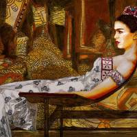 Frida in Repose Art Prints & Posters by George Yepes