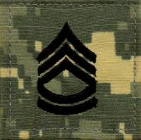 Sergeant First Class Rank