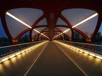 Calgary Peace Bridge (Interior)