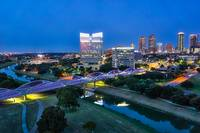 Fort Worth Skyline at Blue Hour
