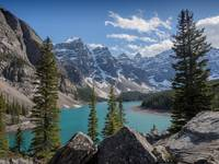 Moraine Lake  - The Summer Sky