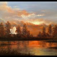 Tranquility Art Prints & Posters by Rich Summers Art