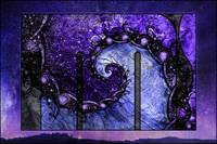 Beautiful Purple Spiral for Nocturne of Scorpio