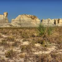 Monument Rocks Art Prints & Posters by JoAnn McCleeary