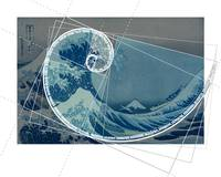 Hokusai Meets Fibonacci with Numerical Sequence