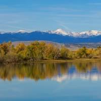 """""""Rocky Mountain Front Range Autumn Panorama"""" by lightningman"""