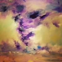 """JaquitaBall_A Twisted Turn_12x12"" by JaquitaBall"