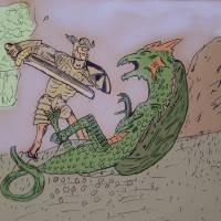06 - sword Art Prints & Posters by Volker Baecker