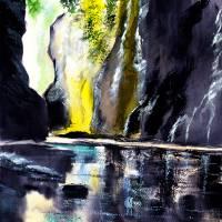 On the Rocks Art Prints & Posters by Anil Nene