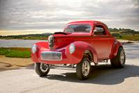 1941 Willys 'Gasser' Coupe 2