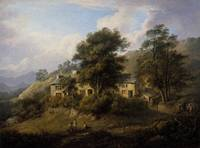 Alexander Nasmyth, Elleray ('The Old Cottage at El