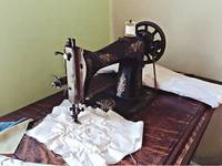 Vintage Sewing Machine Circa 1900