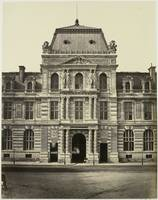 New Louvre. Pavilion of the Imperial Library, Pari