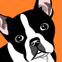 Boston Terrier Art Prints & Posters by Pixel Paint Studio