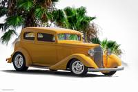 1933 Pontiac 8 Touring Sedan III
