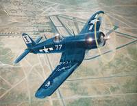 Corsair Over Mojave