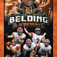 Belding Football 2017 Playoffs Art Prints & Posters by Cory Smith