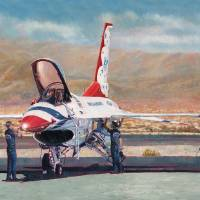 Thunderbird Maintenance Art Prints & Posters by Douglas Castleman