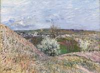 Alfred Sisley 1839 - 1899 THE HEIGHTS OF SAINT Mam