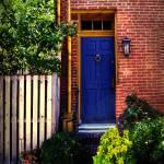 Blue Door, Baltimore Prints & Posters