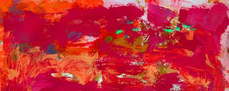 Abstract Red Passion