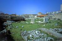 The Athenian Agora, 2003 by Priscilla Turner