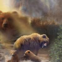 """BearPlay"" by graphixcat"