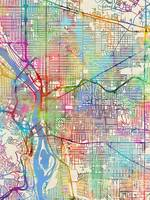 Portland Oregon City Map