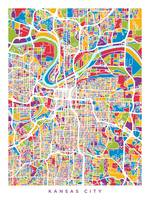 Kansas City Missouri City Map