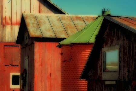 Four Farm Buildings