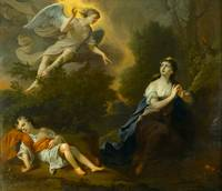 Joseph Highmore, Hagar and Ishmael, 1746